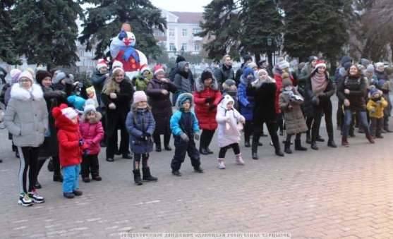 Новый год в Харцызске