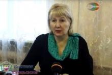 Директор Харцызской ОШ № 1 Елена Николаевна Толстикова