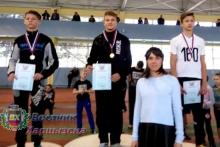 Харцызские легкоатлеты отличились в Донецке