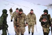 Пленные националисты батальона «Донбасс»