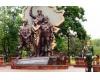 В Луганске пытались взорвать памятник погибшим ополченцам