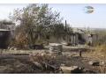 На пожарах под Троицко-Харцызском полностью сгорело 8 домов