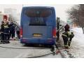 Резонансный пожар в Зугрэсе: загорелся автобус «Донецк – Москва»