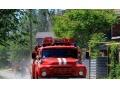 В Харцызске на пожаре пострадало 2 человека - видео