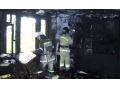Пожар в Зугрэсе: из огня спасена молодая семья с годовалым ребенком (подробности)