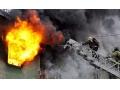 В Харцызске, во время пожара на улице Патона, погиб мужчина