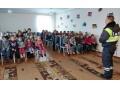 Воспитанники школы-интерната в Зугрэсе с интересом изучают ПДД